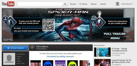 spider man youtube takeover
